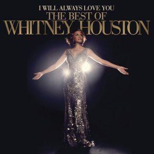 Whitney Houston, interprete di una delle cover di canzoni più celebri, I Will Always Love You