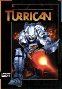 La copertina di Turrican