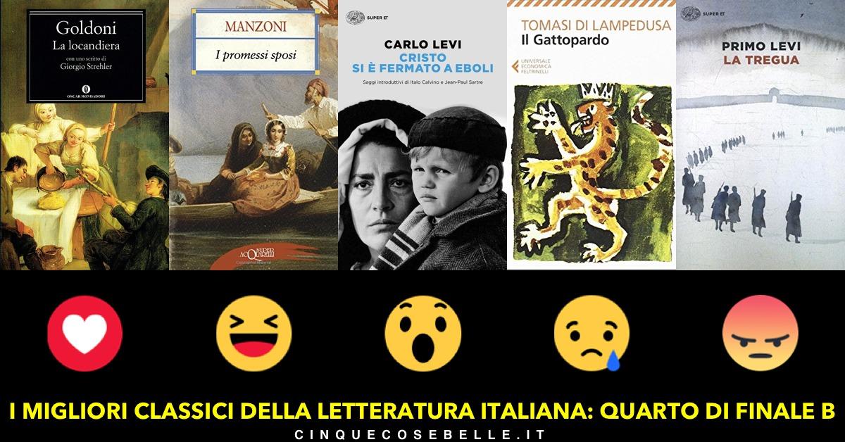 Il secondo gruppo sui classici della letteratura italiana