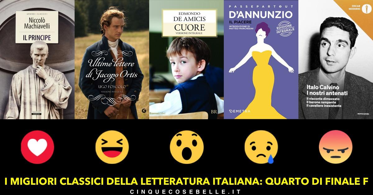 Qual è il miglior libro classico italiano?