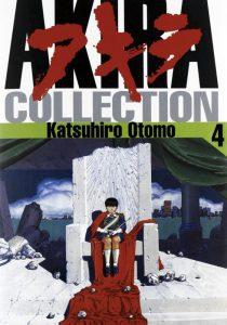 La copertina di un numero di Akira Collection