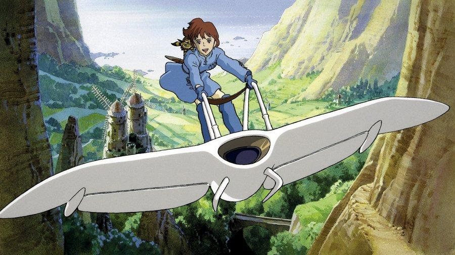 Nausicaä nel film animato di Hayao Miyazaki