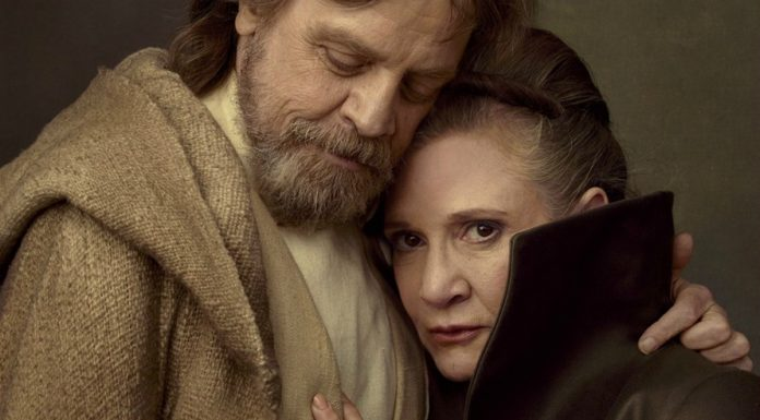 Carrie Fisher e Mark Hamill, ovvero la principessa Leila e Luke Skywalker