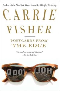 Uno dei libri di Carrie Fisher, Postcards from the Edge