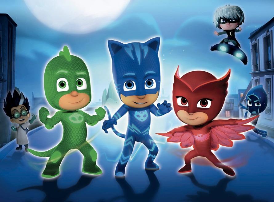 Pj masks super pigiamini cinque personaggi fondamentali