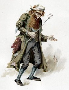 Fagin in un acquerello del 1889 di Joseph Clayton Clarke