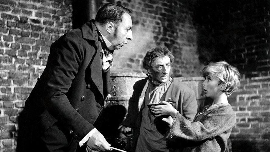 Un punto chiave della trama di Oliver Twist: il bambino chiede più cibo