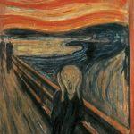 La prima e più famosa versione de L'urlo di Munch, del 1893