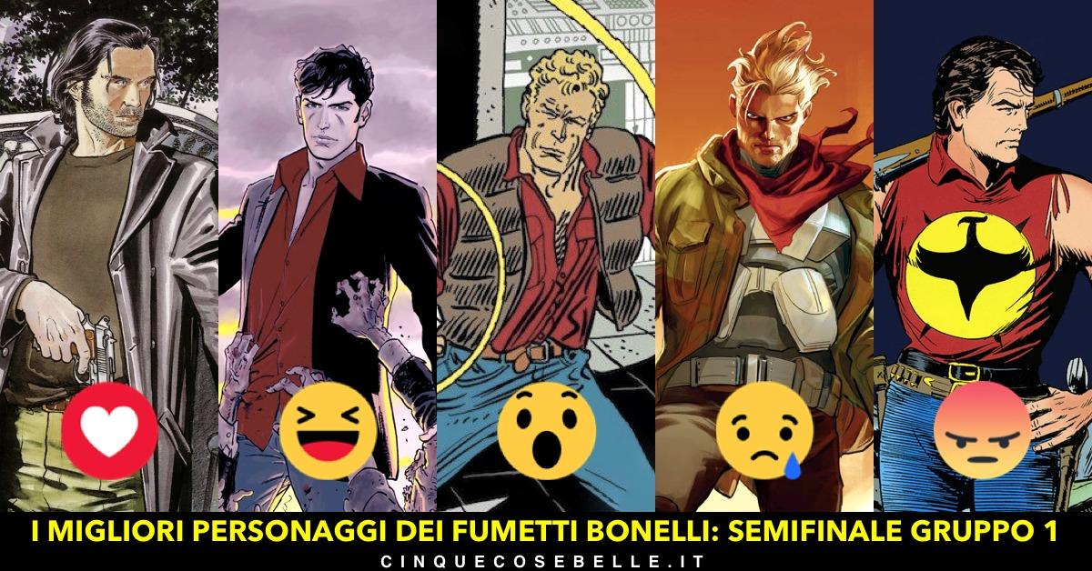 I fumetti Bonelli: siamo alle semifinali