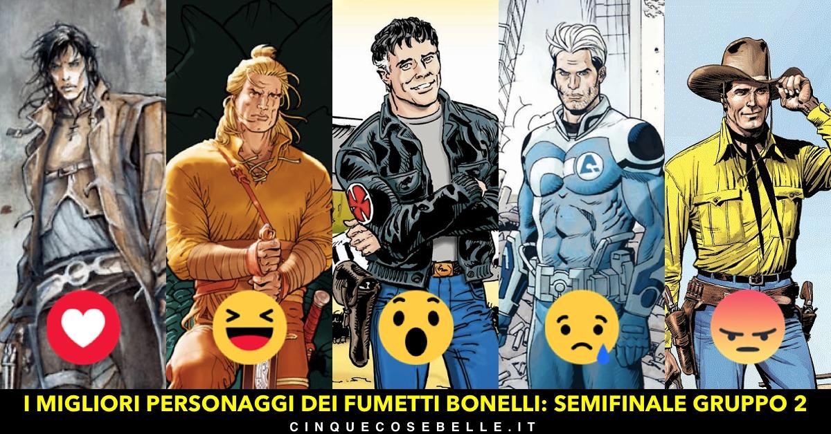 La seconda semifinale del nostro sondaggio sui personaggi Bonelli