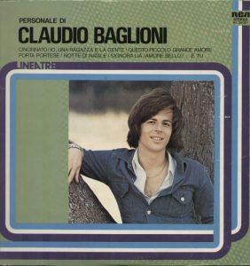 Una raccolta di Claudio Baglioni