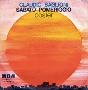 Sabato pomeriggio/Poster di Claudio Baglioni