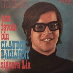 Il singolo di Signora Lia, esordio di Claudio Baglioni