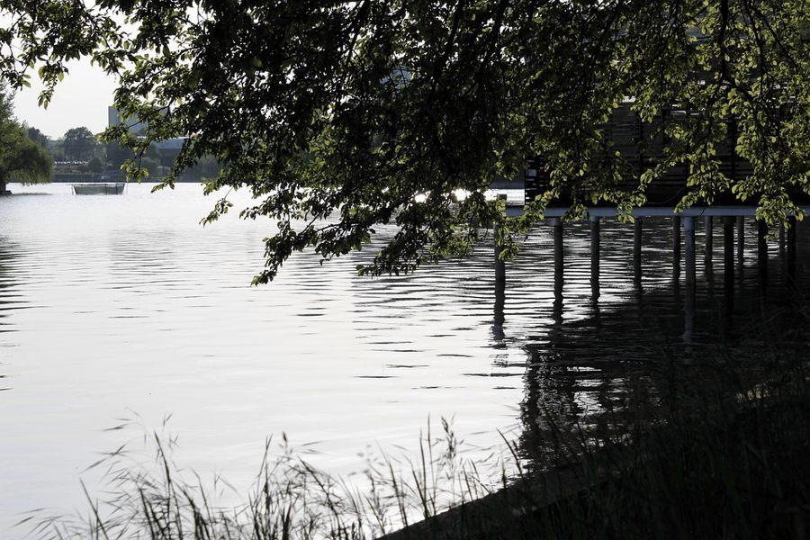 Il lago del Parco Herăstrău a Bucarest