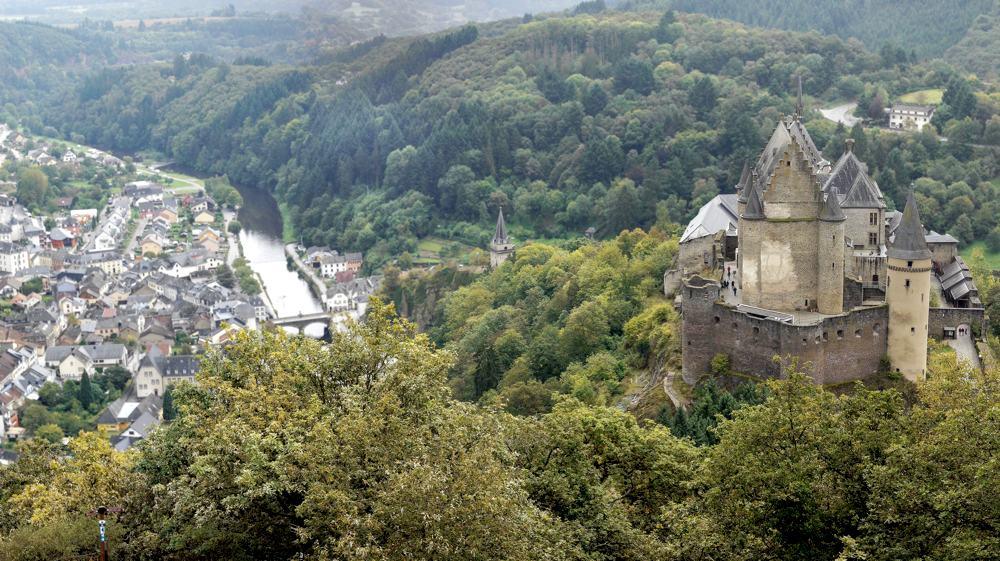 Il castello di Vianden (foto di Lexe-I via Flickr)