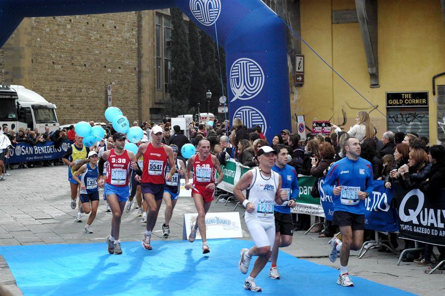 La maratona per le strade di Firenze (foto di Visit Tuscany via Flickr)
