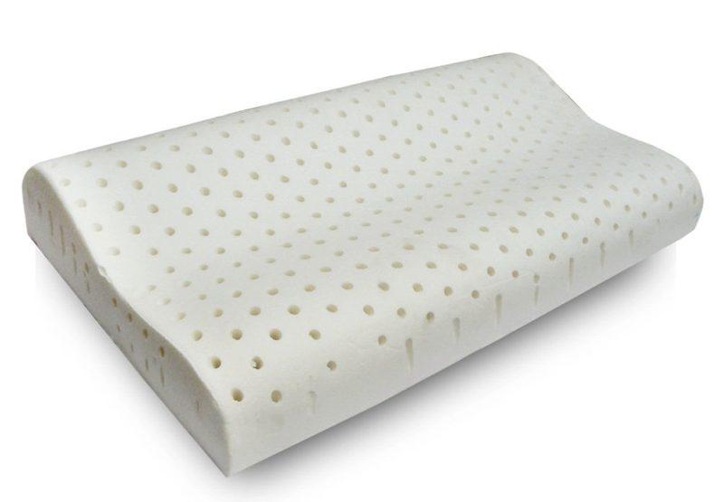 Un esempio di cuscino ortopedico per la cervicale
