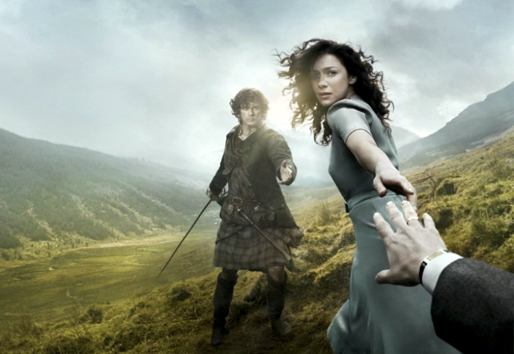 La protagonista di Outlander, divisa tra modernità e passato