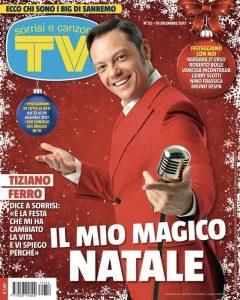 Una recente copertina di TV Sorrisi e Canzoni