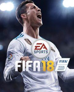 Cristiano Ronaldo sulla copertina di Fifa 18