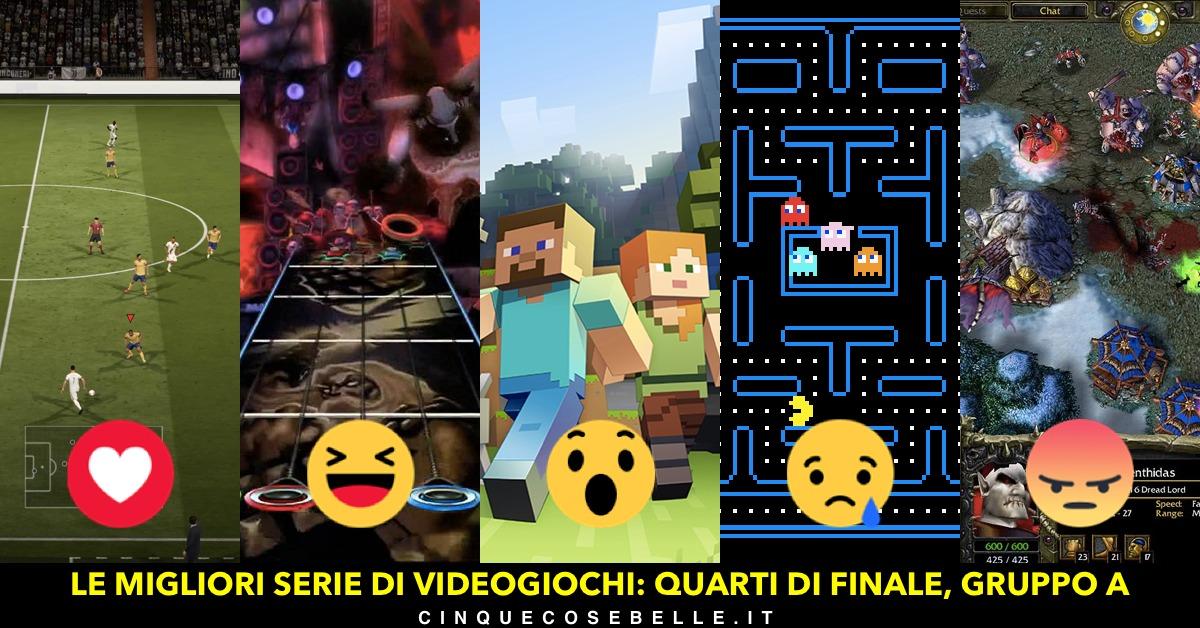 Qual è la miglior serie di videogiochi? Ecco il gruppo A dei quarti di finale