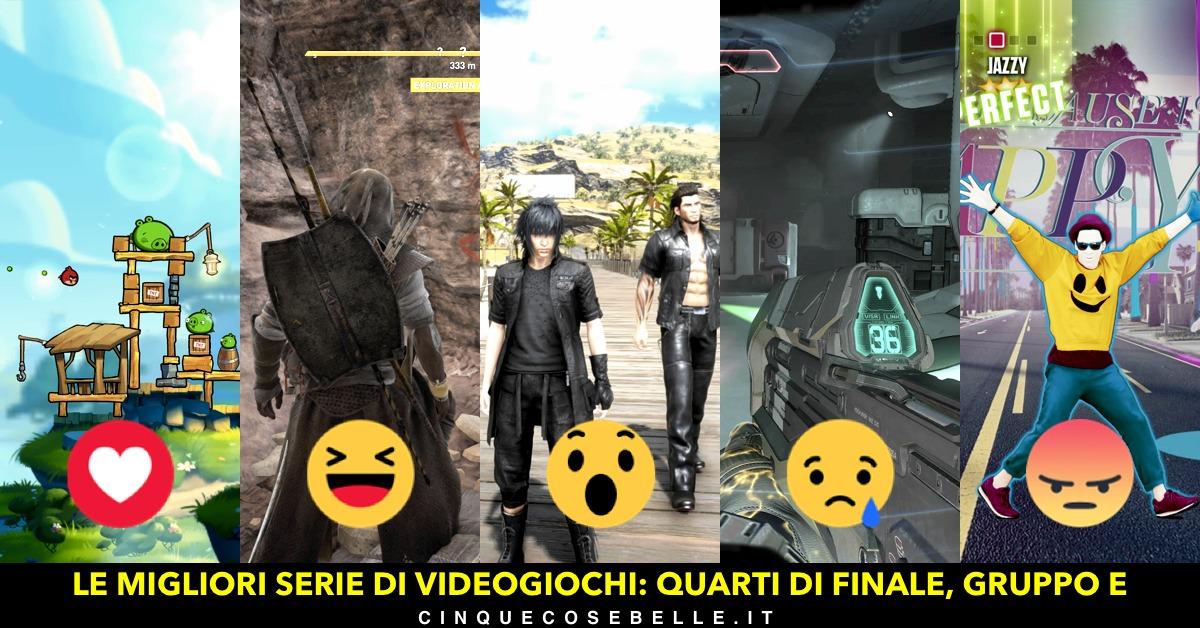 Il gruppo E dei quarti di finale sulla miglior serie di videogiochi