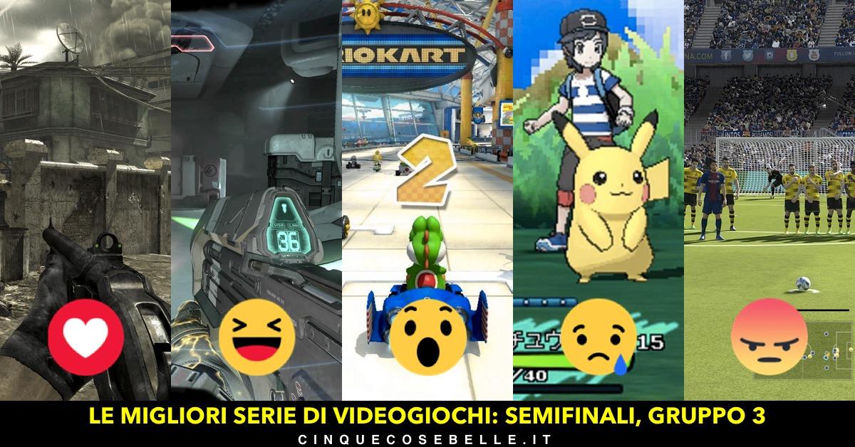 Il terzo gruppo di semifinale per il nostro sondaggio sulle migliori serie di videogiochi