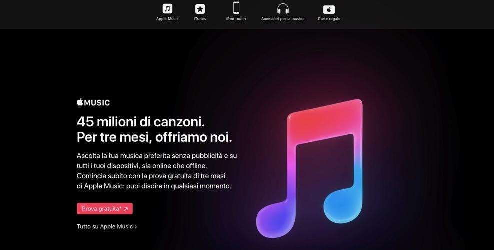 Apple Music, un colosso contro Spotify