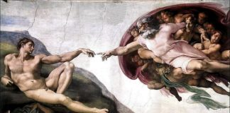La creazione di Adamo, il capolavoro di uno dei più grandi artisti rinascimentali, Michelangelo Buonarroti