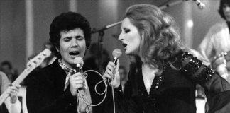 Lucio Battisti e Mina, due tra i più importanti cantanti italiani anni '70