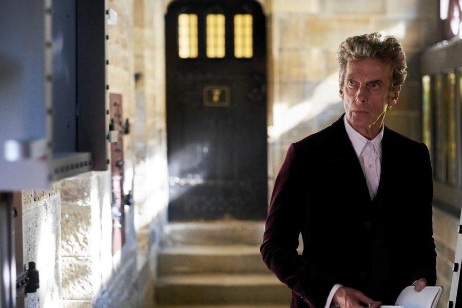 Peter Capaldi in Mandato dal cielo, uno dei più bei episodi di Doctor Who recenti