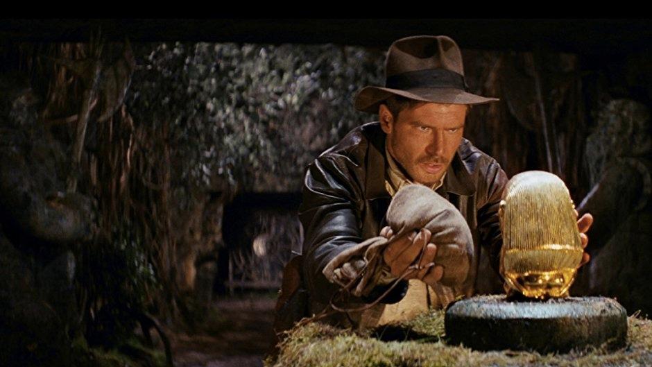 Harrison Ford nei panni di Indiana Jones ne I predatori dell'arca perduta