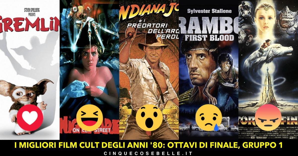 I migliori film cult degli anni '80: il gruppo 1