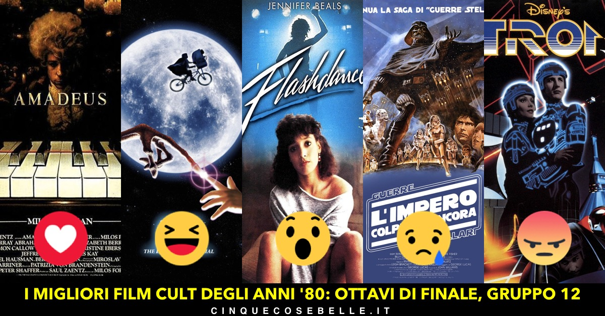 I migliori film cult degli anni '80: il gruppo 12