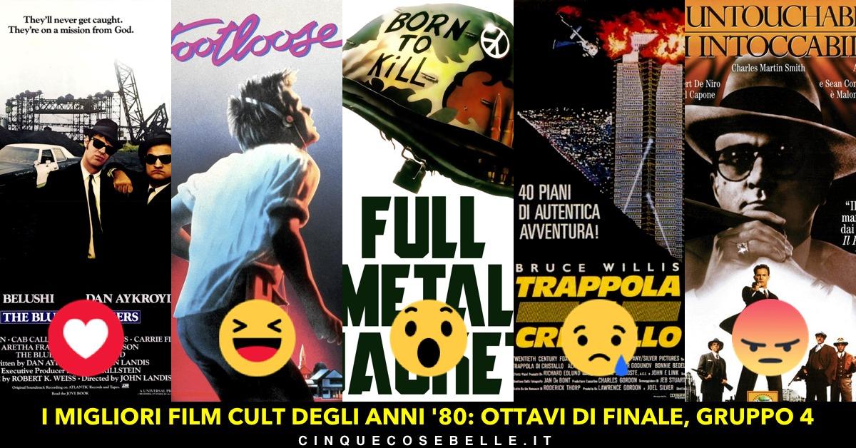 I migliori film cult degli anni '80: il gruppo 4
