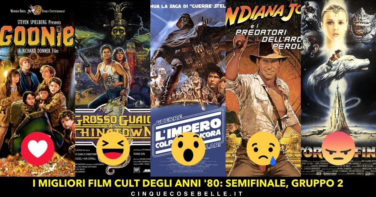 La seconda semifinale sul migliore film cult degli anni '80