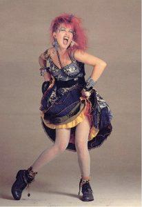 Cindy Lauper negli anni '80