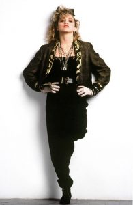 Madonna in una foto promozionale per il film Cercasi Susan disperatamente