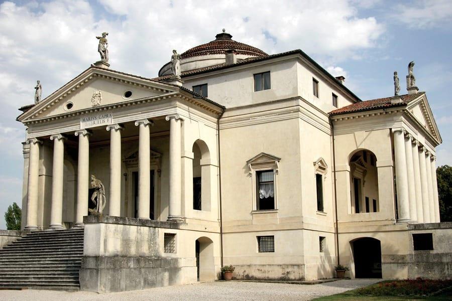 La Rotonda di Andrea Palladio (foto di Quinok via Wikimedia Commons)