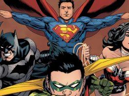 Alcuni tra i più famosi personaggi della DC Comics