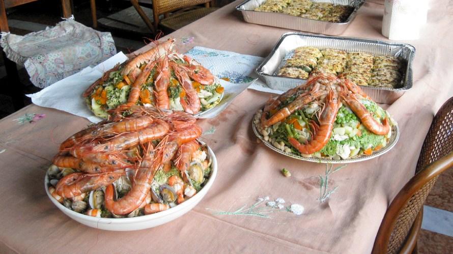 Il Cappon magro è uno dei piatti tipici liguri più famosi (foto di Franco Pecchio via Flickr)