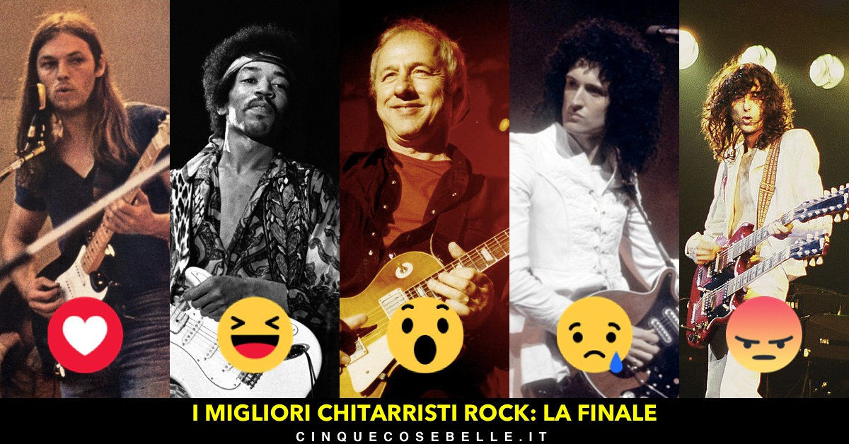 La finale del nostro sondaggio sui chitarristi rock