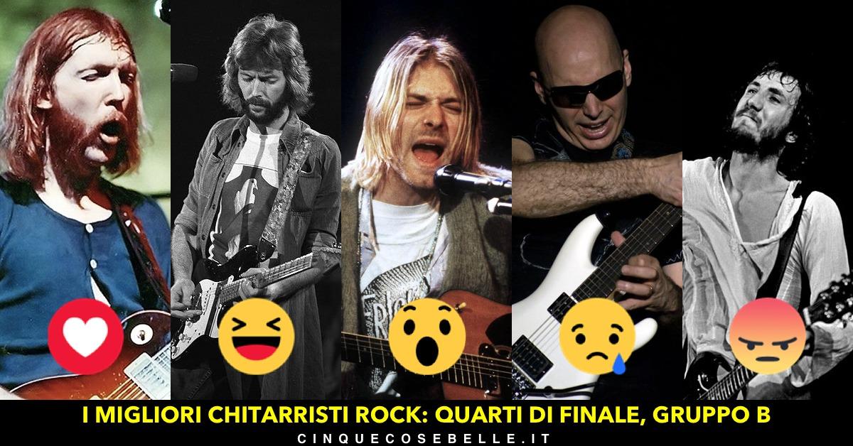 Continua il nostro sondaggio sui chitarristi più bravi