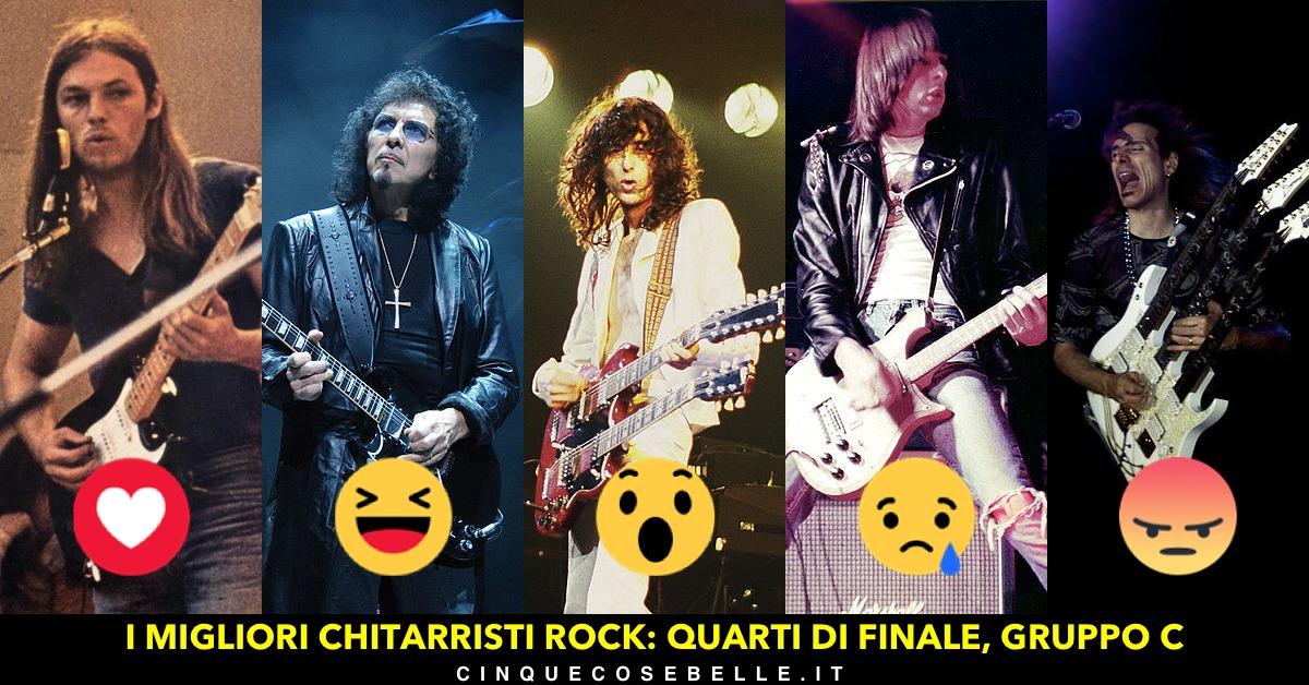 Chitarristi rock: terzo gruppo