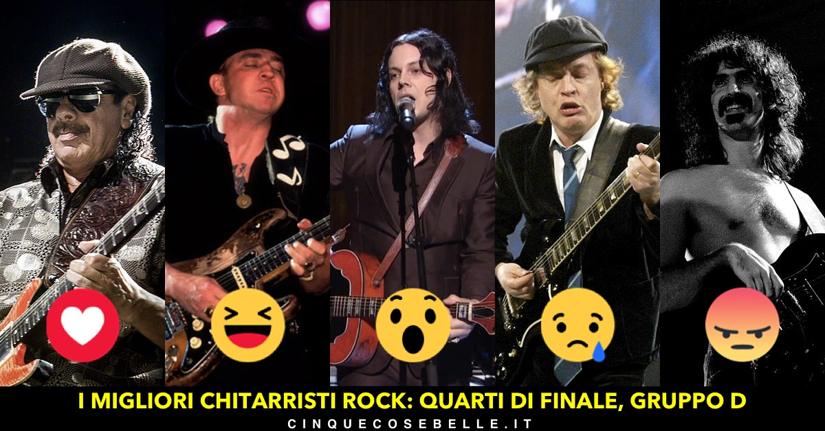Chitarristi rock: quarto gruppo