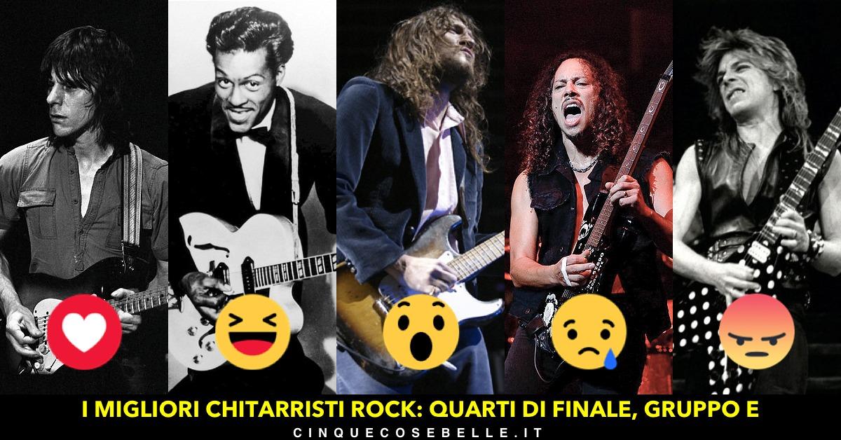 Chitarristi rock: quinto gruppo