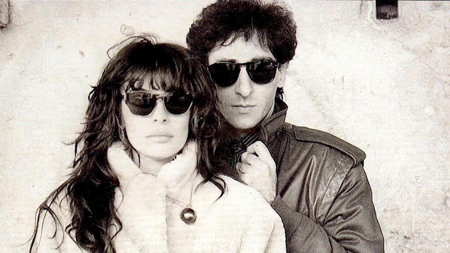 Alice e Franco Battiato negli anni '80