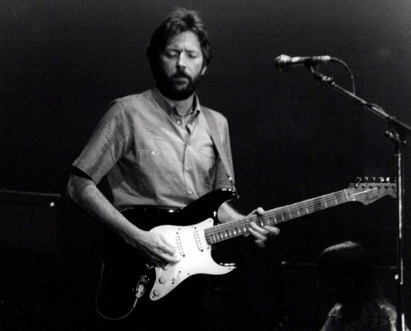 Eric Clapton, uno dei principali chitarristi rock di ogni epoca (foto di F. Antolín Hernandez via Flickr)