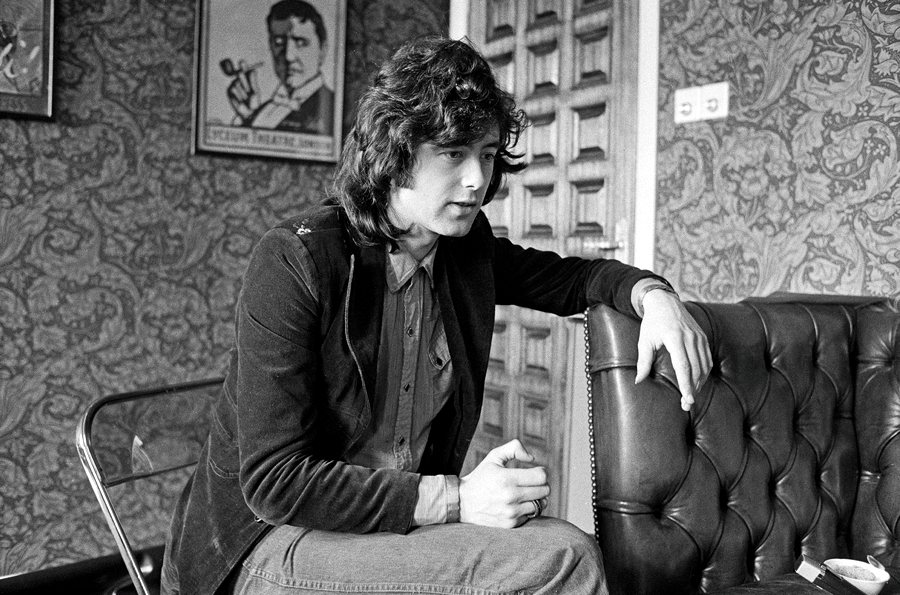 Jimmy Page nel 1973