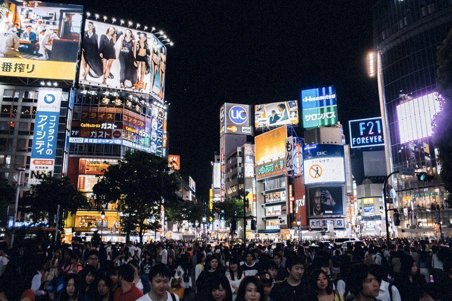 Il dinamico quartiere di Shibuya a Tokyo, una delle risposte alla domanda su cosa vedere in Giappone